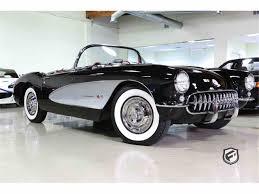 vintage corvette for sale 1957 chevrolet corvette for sale on classiccars com