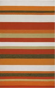 Stripe Area Rug 8 Orange Area Rugs For Your Living Room Furniture
