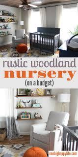 woodland home decor floating shelf woodland nursery decor a rustic retreat for a baby boy