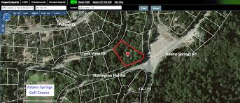 San Diego County Assessor Maps by Adam Springs Golf Course Lot For Sale
