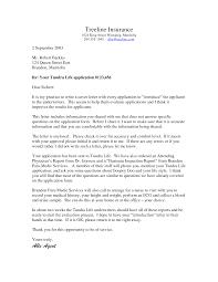 resume cover letter for insurance agent