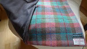 Brown Tartan Rug Harris Tweed Rug Roselawnlutheran