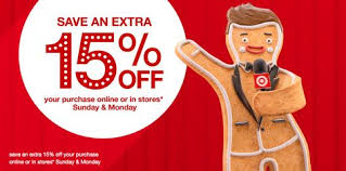 target black friday purchase online target get an extra 15 off everything in stores and online target