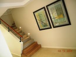 Height Of Handrails On Stairs by Half Height Wall Timber Bullnose Timber Handrail And Stainless