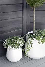 ceramic modern garden pots