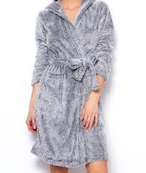 robe de chambre etam d shabill doudou orval gris etam con robe de chambre polaire