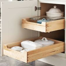 cabinet pull out shelves kitchen pantry storage deluxe dovetailed roll out trays