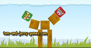 tom jerry hit ground tom jerry games