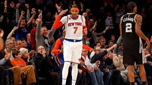 Carmelo Anthony Bench Press Nba Notes Warriors Spurn White House Knicks Agree To Trade