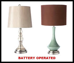 Cordless Led Desk Lamp Battery Table Lamps Antique Bronze Led Cordless Battery Operated