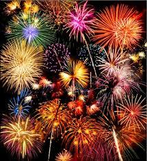 chagne bottle fireworks fireworks grove department