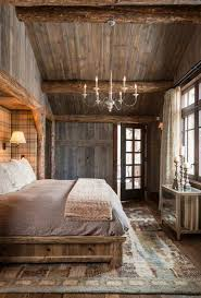 Rustic Bedroom Decorating Ideas - bedroom breathtaking awesome cabin bedroom with lovable decor
