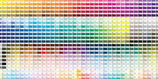 palette pantone the world of pantone full of color rhyme and reason design