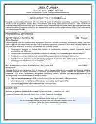 Resume Samples Accounting Experience by Resume Samples For Administrative Assistant Resume Examples 2017