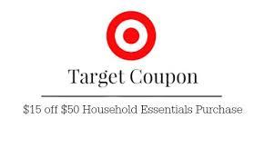black friday target coupon printable target coupon 15 off 50 household southern savers