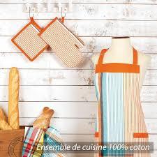 bureau d ude m anique set de cuisine cocina 4 pieces tablier gant manique et torchon