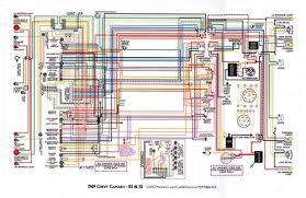1969 camaro wiring diagram 1967 81 camaro laminated color wiring diagram 11 x 17