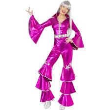 Halloween Costumes Disco Disfraz Chica Disco Dancing Rosa Disfraces Carnaval