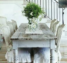 Surprising Shabby Chic Cream Dining Table And Chairs  For Dining - Shabby chic dining room set