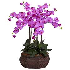 nearly large phalaenopsis silk flower arrangement in