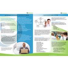 brochure design software print design contests aquilon software brochure page 1