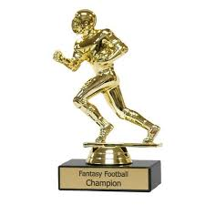 Fantasy Football Armchair Quarterback Trophy Trophies U2013 Mydraftday