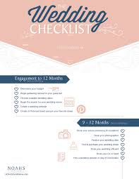 wedding checklist the complete wedding planning checklist noahs weddings