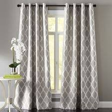 Standard Window Curtain Lengths Patterned Curtains Window Treatments U0026 Window Panels Pier1 Com