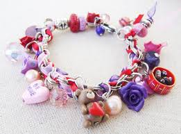 handmade bracelet charms images Handmade personalized stainless steel and polymer clay charm jpg