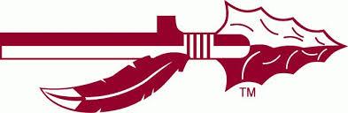 fsu seminole spear logo iron on transfers fsu seminole spear