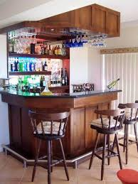 Wine Bar Furniture Modern by Lovely Mini Liquor Bars For The Kitchen And Corner Curved Mini Bar
