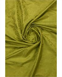 pista green color pista green color self floral designed pure banaras fabric fabrics