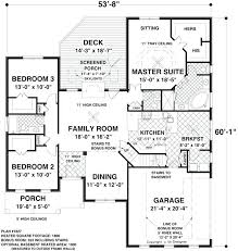 house plans one level 16 x 20 master bedroom plans one level ranch house plans single