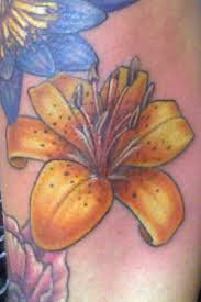 tattoos color tiger lily tattoomagz
