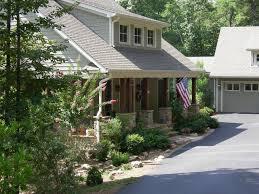 Craftsman House Plans With Porch Detached Garage With Breezeway Plans Amp Lodge House Plan