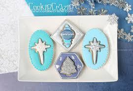 framed 3d christmas shape decorated cookies tutorial u2014 cookiecrazie