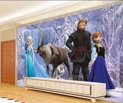cartoon custcomized 3d mural wallpaper kids girls bedroom tv sofa