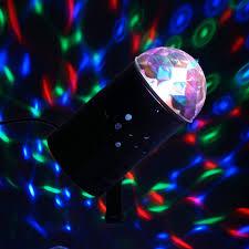 mini disco ball light rotating led crystal mini disco ball stage spot light efavormart