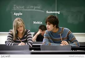 web meme exam cheaters apple samsung nokia onlinemediatrends com