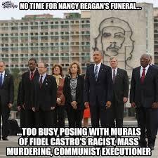 Cuba Meme - brutal meme destroys obama over his visit to cuba