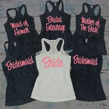 bridesmaids tank tops 5 bridesmaids tank tops s 2xl from strong confident you