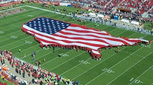 Dallas Cowboys Flags And Banners U S Shaped American Flag Unveiled Ahead Of Cowboys 49ers Game