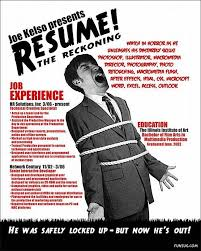 Funny Resume Examples by 74 Best Creative Resumes Images On Pinterest Resume Ideas