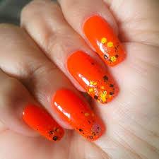 65 beautiful orange nail art ideas nail art designs u0026 diy