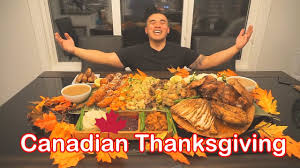 canadian thanksgiving time friends edition