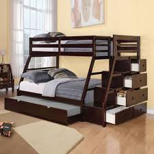 Free Plans For Queen Loft Bed by Bunk Beds Bunk Beds With Futon On Bottom Queen Bunk Beds For