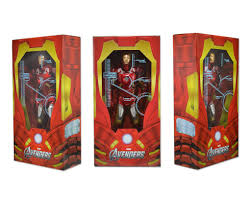 avengers 1 4th scale figure iron man case 2 necaonline com