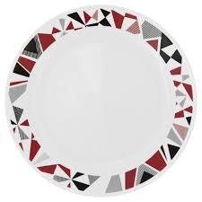 Corelle Square 30 Piece Dinnerware Set Livingware Mosaic Red 16 Pc Dinnerware Set Review Corelle Dinnerware
