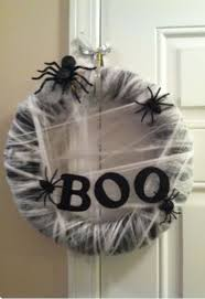 6 easy diy halloween wreaths
