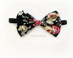 floral bowtie american flag bowtie white blue bow tie with